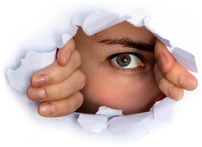 Zdjęcie przedstawia zdrowe oko
